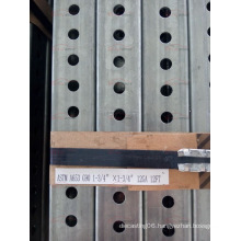 China Factory Supply Perforated Steel Square Tracffic Sign Posts with Best Price